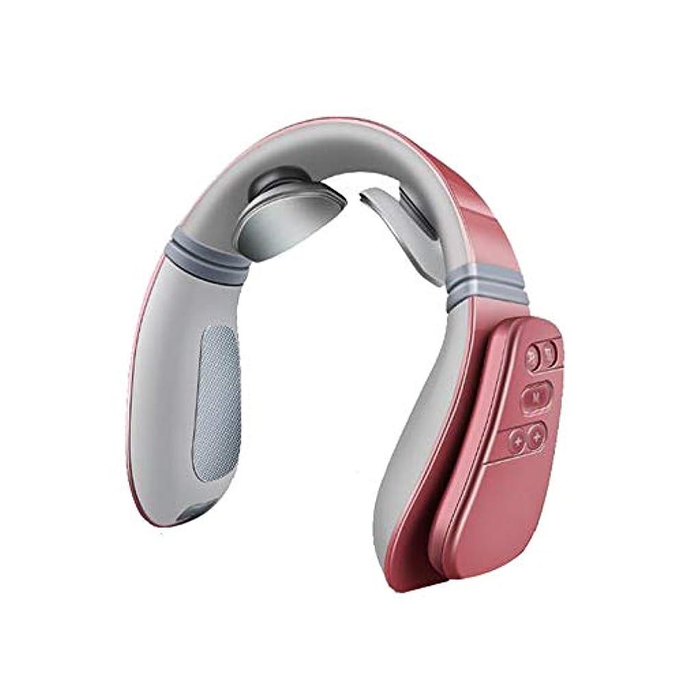 セットするカテナ不調和首のマッサージャーの指圧の深いティッシュの首のための携帯用一定の温度の熱い湿布は筋肉苦痛を取り除きます