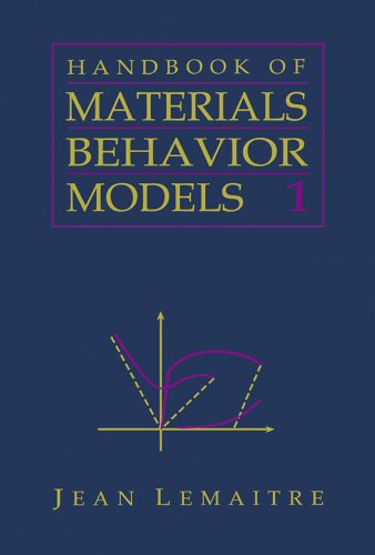 Handbook of Materials Behavior Models, Three-Volume Set: Nonlinear Models and Properties