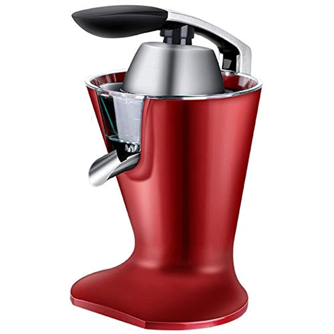流行している伝統的音声RDJSHOP 電気家庭用ジューサー118ワット電源小さなオレンジレモンジュースマシン取り外し可能で簡単に洗浄簡単な自動ジュースマシン