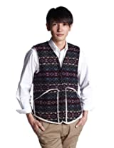 Sherpa Lining Vest JS11-001: Happy Raspberry Delight