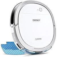 ECOVACS DEEBOT OZMO Slim11 床拭きロボット掃除機 超薄型 水拭き対応 モップ付け 自動拭き掃除 Alexa対応 スマホ連動
