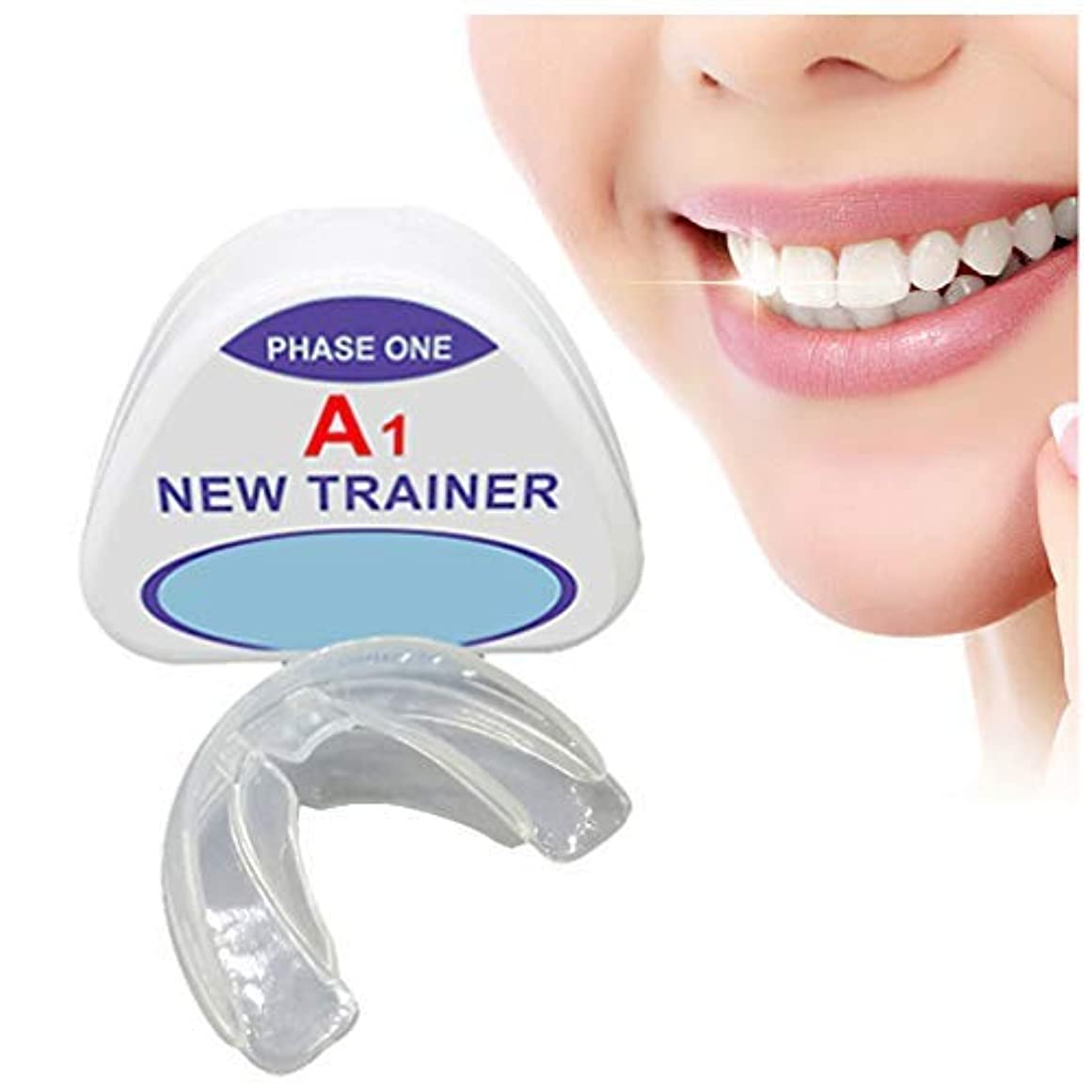 それによって遠い慣れている歯列矯正トレーナーリテーナー、歯科用マウスガード歯列矯正器具、歯用器具夜予防臼歯ブレース