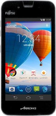 SIMフリースマートフォン ARROWS M01 (ホワイト)