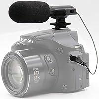 Vivitarユニバーサルミニマイクmic-403for Panasonic Lumix DMC - dmc-fz2500デジタルカメラ外部マイク