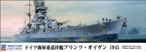 ピットロード 1/700 独海軍重巡洋艦 プリンツ・オイゲン1945 W154