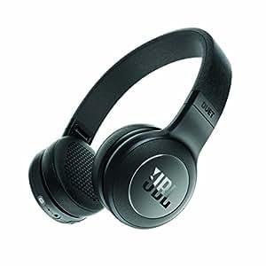 JBL DUET BT Bluetoothヘッドホン 密閉型/オンイヤー ブラック JBLDUETBTBLK 【国内正規品】