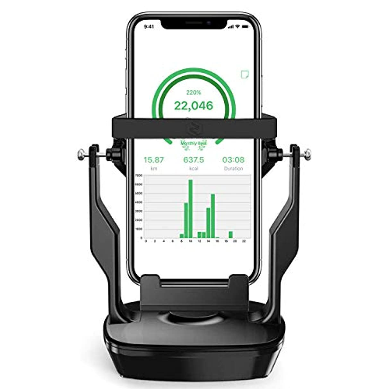 農奴怪物釈義BEGALO 回転スイング 歩数稼ぎ 振り子 歩数を増やす 距離稼ぎ 永久運動 自動歩数カウント USB給電 電池給電 静音 耐磁素材 1時間約8000歩 6.5インチまで対応 多数アプリ対応