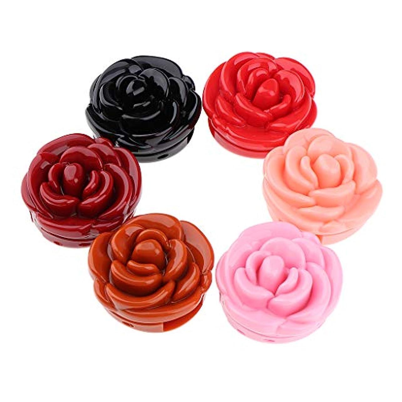 地獄なめる繊毛防水口紅 リップクリーム 美容 化粧品 メイクアップツール 6色セット