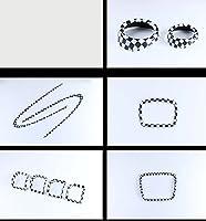 Eppar新しい装飾車Interiors for Mini Clubman f542014–2017 1 シルバー EPYCLR00003187
