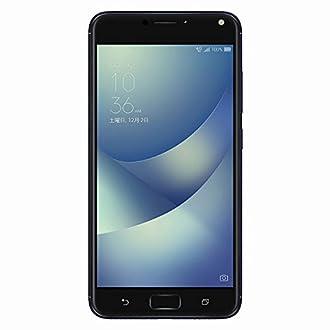 ASUS (エイスース) ZenFone 4 Max Pro ネイビーブラック 「ZC554KL-BK32S4BKS」 Andoroid 7.1.1・5.5型・nanoSIM×2 SIMフリースマートフォン