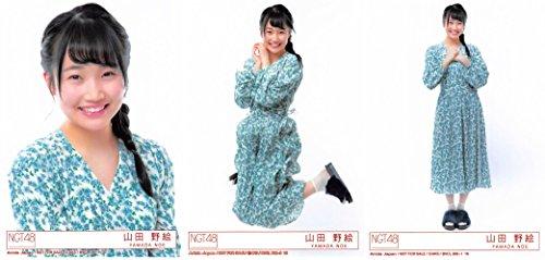 【山田野絵】 公式生写真 NGT48 青春時計 封入特典 3...