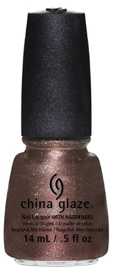 こねる暴行どうしたのCHINA GLAZE Nail Lacquer - Autumn Nights - Strike Up A Cosmo