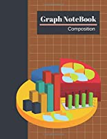 Graph Notebook: Large Graph Composition Book Double Sided Sheets  Quad Ruled 4x4, Grid Paper for Math & Science Students - Size Large (8.5 x 11) 100 Page, (Sugar Almond Cover).