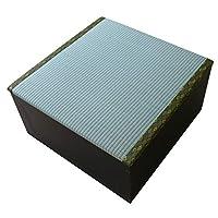 畳 ボックス 収納 高床式 ユニット 半畳タイプ1本 ダークブラウン UT001DBR J-Supply