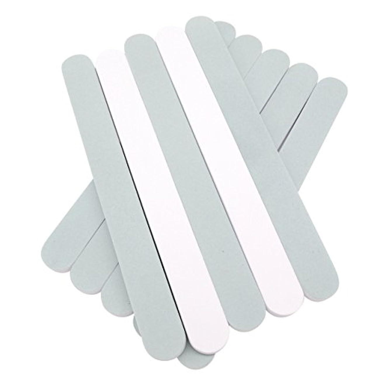 異常な起業家トラクター(SOWAKA)2way ネイル シャイナー 10本 セット 爪磨き ツヤ出し (10本セット)