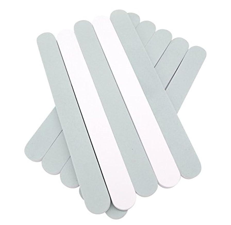 剣流暢肝(SOWAKA)2way ネイル シャイナー 10本 セット 爪磨き ツヤ出し (10本セット)