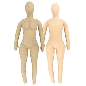 BIBILAB (ビビラボ) 日本綿嫁(妹) WY-140 身長140㎝ Aカップ 日本の枕職人によるハンドメイド 皮下脂肪の感触を再現