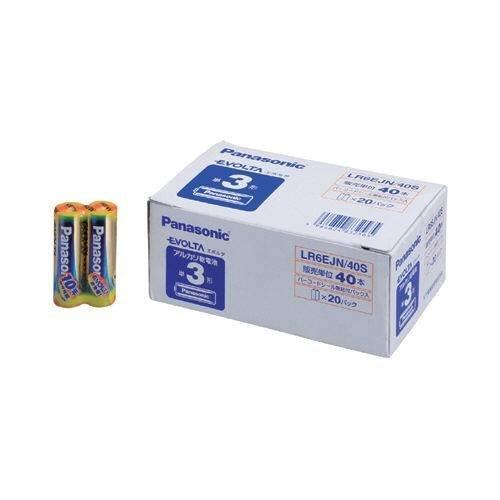 エボルタ アルカリ乾電池 単3形 LR6EJN40S 1パック 40本