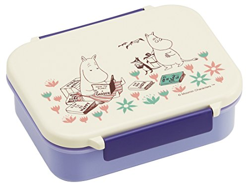 ムーミン  Moomin タイトフードウェア S  お花畑  ミィ  リトルミイ  お弁当箱  ランチボックス  保存容器  容器