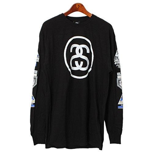 (ステューシー)STUSSY LS LINK INTERNATIONAL Tシャツ 1993623 メンズ 02.ブラック L [並行輸入品]