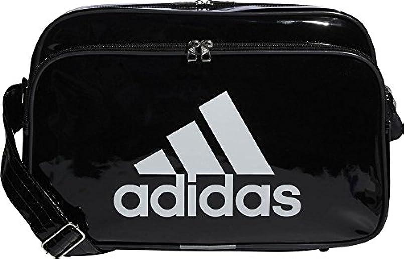 下暗殺者ファブリックアディダス adidas エナメルバッグ Mサイズ 18L ETX12 ショルダーバッグ【ブラック/ホワイト(CX4042)】