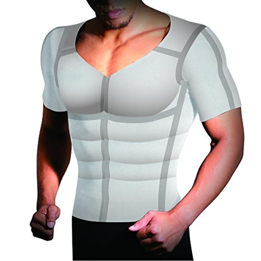 間違っているインシデント忘れられない加圧シャツ ヒロミプロデュース パンプマッスルビルダーTシャツ(Lサイズ/ホワイト) KTSWTL