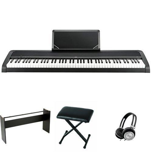 KORG 電子ピアノ B1 BK 88鍵 ブラック ご自宅練習セット
