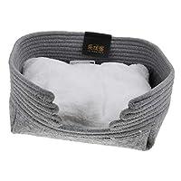Sharplace 犬 猫 柔らかい 綿暖かい クッションマット パッド ベッド ハウス 全3色 - グレー