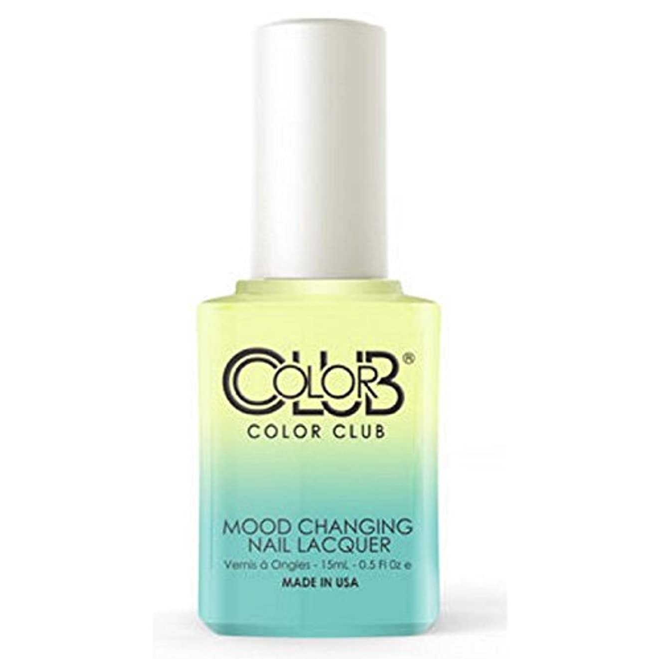 グレーもし罰Color Club Mood Changing Nail Lacquer - Shine Theory - 15 mL / 0.5 fl oz