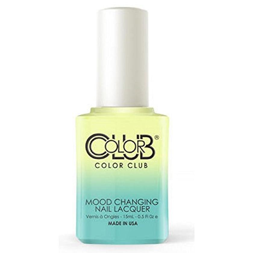 ステンレス昼間雇用Color Club Mood Changing Nail Lacquer - Shine Theory - 15 mL / 0.5 fl oz