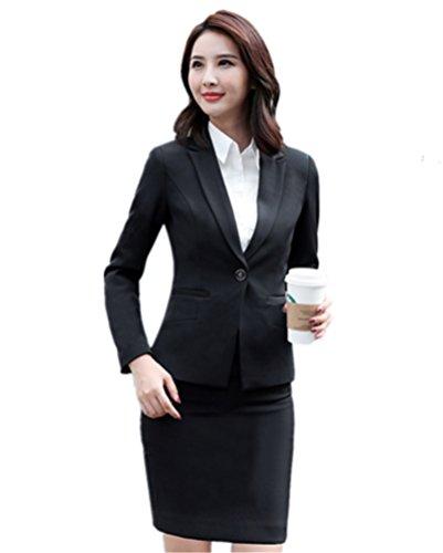 [해외](빠이미) PAIMI 정장 여성 세트 정장 테일러드 OL 사무실 취업 비즈니스 통근 모집 사무 복장 치마 정장 2 종 세트 3 종 세트 큰 사이즈/(Pimi) PAIMI Suit Ladies Set Suit Tailored Jacket OL Office Job Hunting Business Commuter Recruit Cleri...