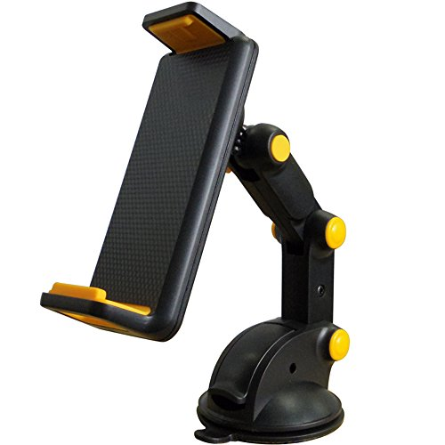 Alterego スマホ タブレット 車載 ホルダー スタンド 三軸 アーム 角度 自由に調整可 3.5インチ~10.1インチ 大型スマホ対応