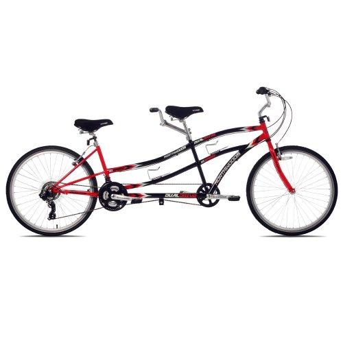 【並行輸入品】Kent Northwoods(ケントノースウッズ) デュアル ドライブ タンデム 自転車(Black/Red)