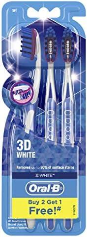Oral-B 3D White Toothbrush 3pk