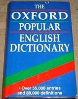 Oxford Hardback Dictionary