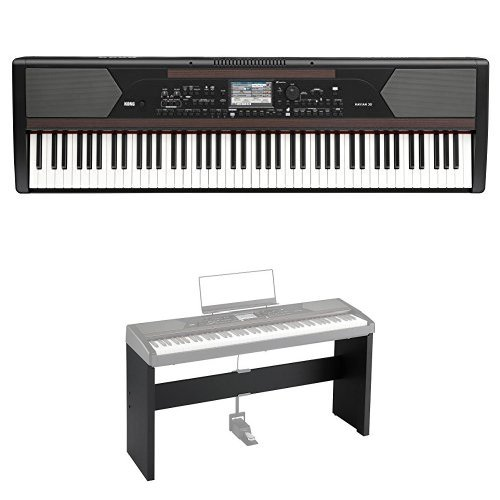 KORG 電子ピアノ DIGITAL ENSEMBLE PIANO HAVIAN 30 専用スタンドセット