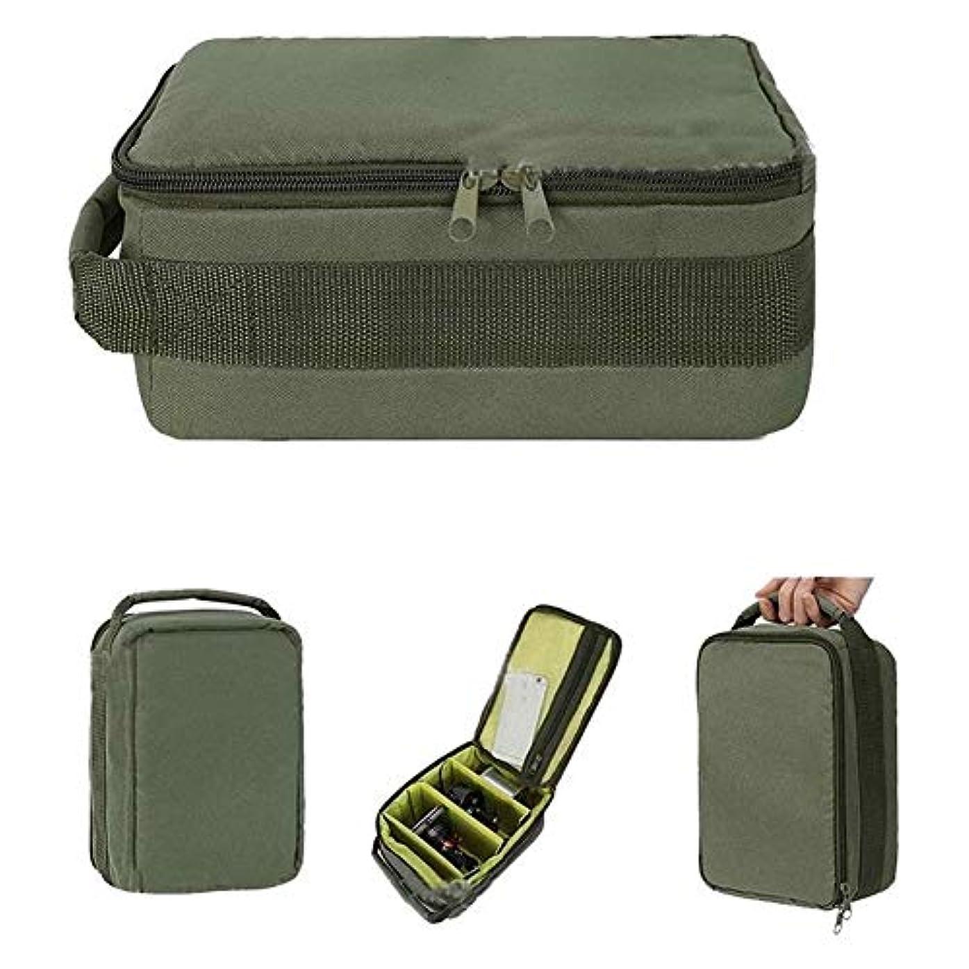 砦パトロンシード屋外釣りボックスボックス餌バッグフィッシュラインパッケージ新しい釣りロールバッグ4層オックスフォード布ハンドルダブルジッパー nta691