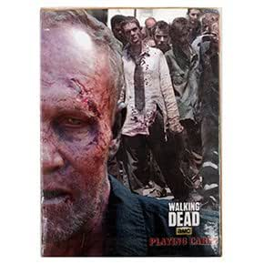 ゾンビトランプ AMC Walking Dead Playing Cards Zombie A