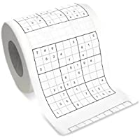 Bunkerbound Novelty Sudoku Toilet Roll by Thumbs Up [並行輸入品]