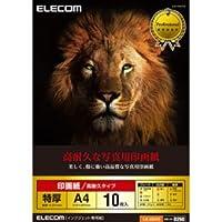 (11個まとめ売り) エレコム 光沢写真用紙 印画紙特厚 高耐久 A4 10枚 EJK-ASA410