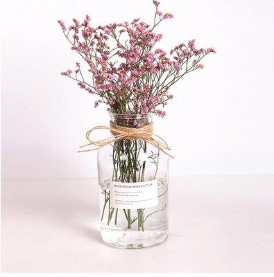 超特価セール 40%OFF 花瓶 フラワーベース 花器 クリアガラス花瓶 一...