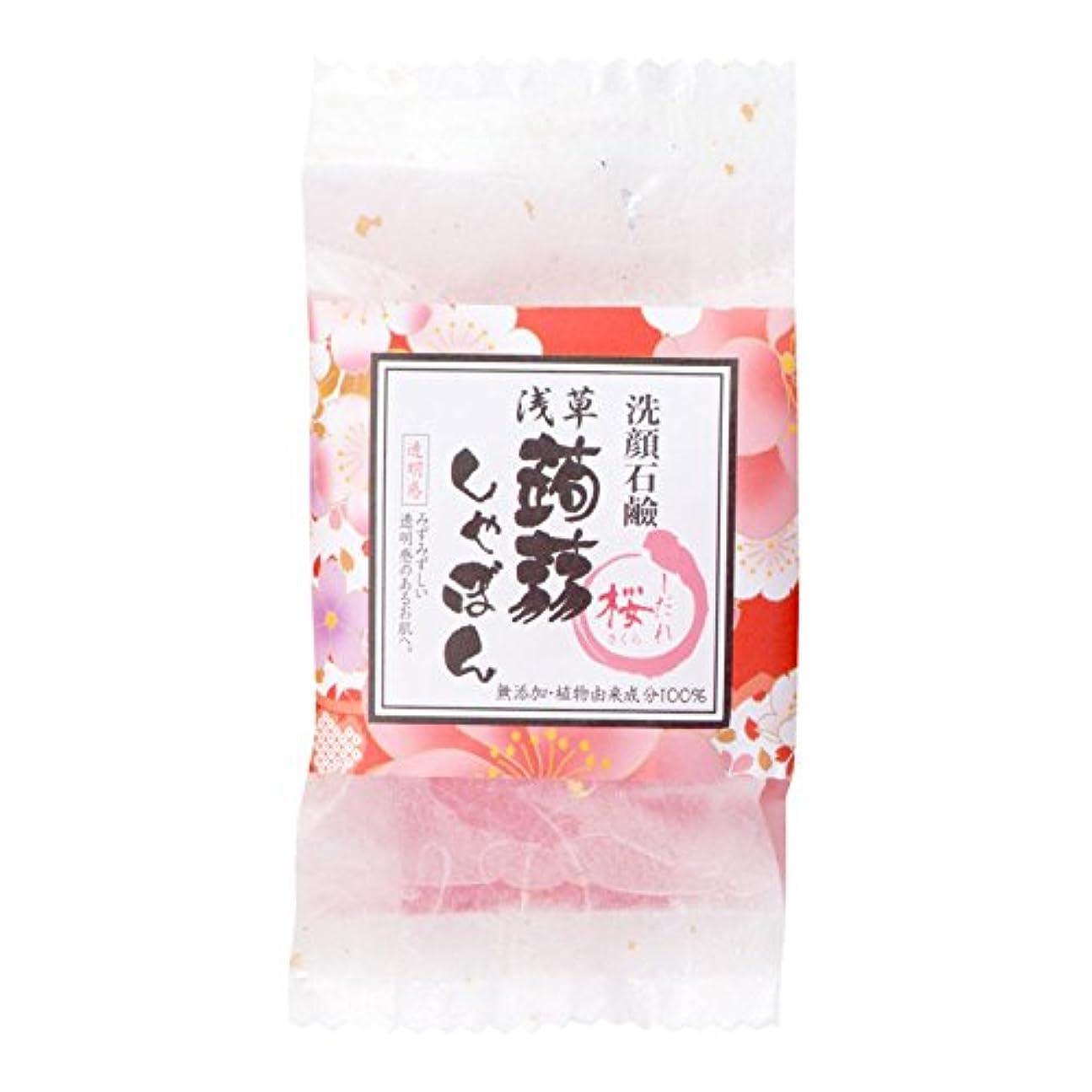 浸漬絶壁車浅草蒟蒻しゃぼん浅草 枝垂桜(しだれさくら)
