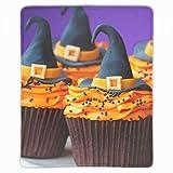 マウスパッド おしゃれ クリームハロウィン帽子フードケーキデコレーション マウスの精密度を上がる