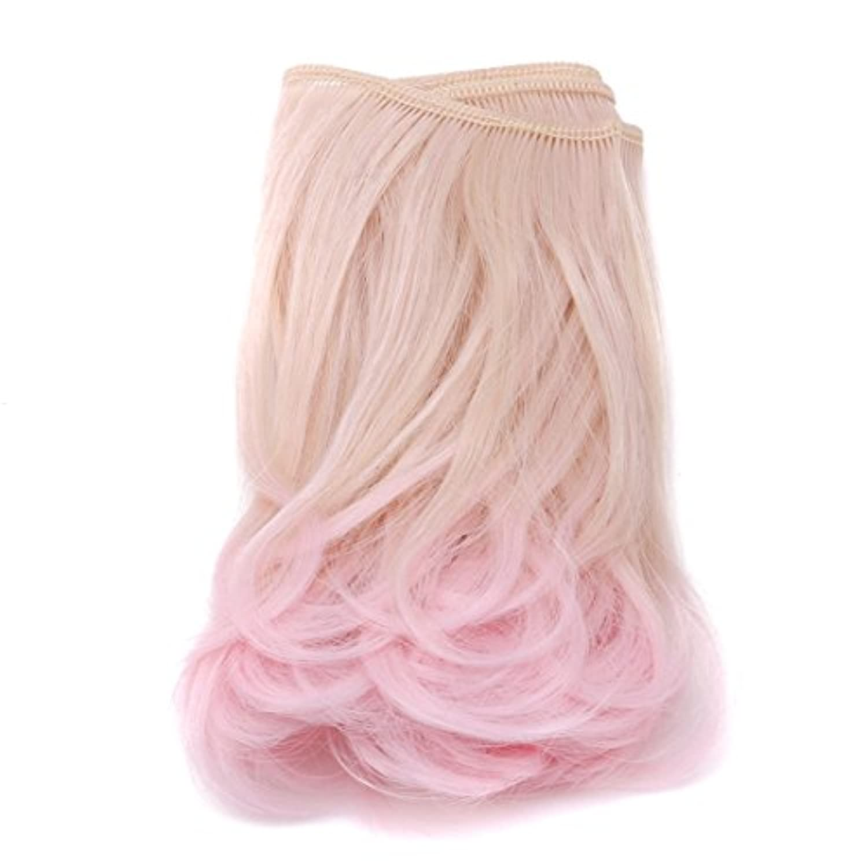 KLUMA かつら ドール 人形 高温ワイヤー 綺麗 素敵 波状巻き毛 ウィッグ アクセサリー ギフト