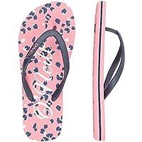 O'Neill Girls' Fg Moya Sandalen Flip Flops, Multicoloured Pink AOP W Blue 4950, 1.5 UK