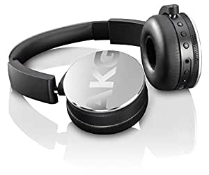 AKG Y50BT ワイヤレスヘッドホン Bluetooth 密閉型 DJスタイル シルバー Y50BTSLV 【国内正規品】
