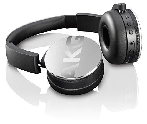 【国内正規品】AKG Y50BT ワイヤレスヘッドホン Bluetooth 密閉型 DJスタイル シルバー Y50BTSLV