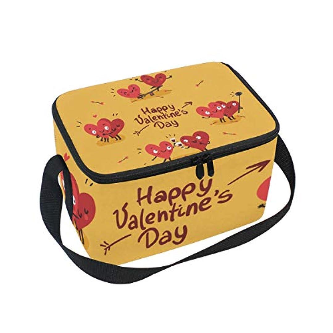 散歩に行くバングラデシュ木クーラーバッグ クーラーボックス ソフトクーラ 冷蔵ボックス キャンプ用品 バレンタインデー 漫画 心柄 保冷保温 大容量 肩掛け お花見 アウトドア