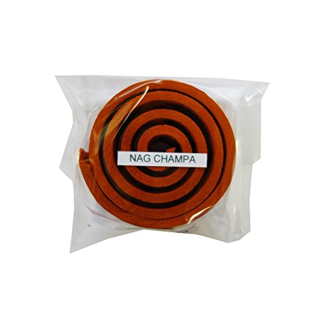 ママ株式デンプシーお香/うずまき香 Nag Champa ナグチャンパ 直径5cm×5巻セット [並行輸入品]