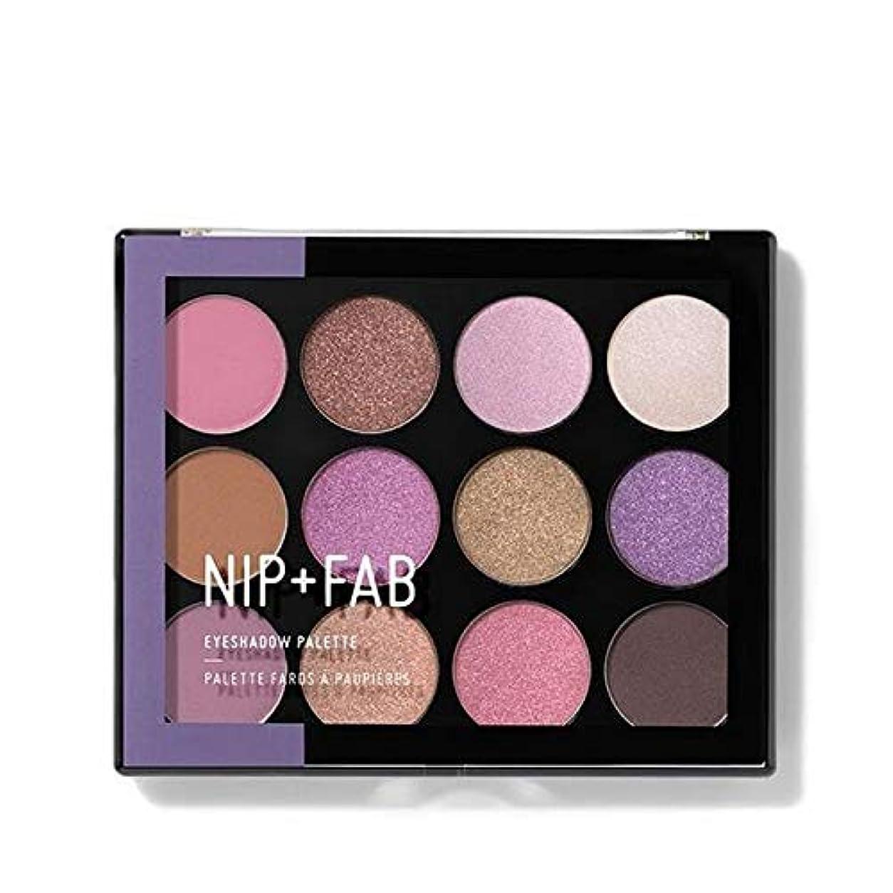 タイプ鉄道シャイ[Nip & Fab ] アイシャドウパレット5を構成するFab +ニップ - NIP+FAB Make Up Eyeshadow Palette 5 [並行輸入品]
